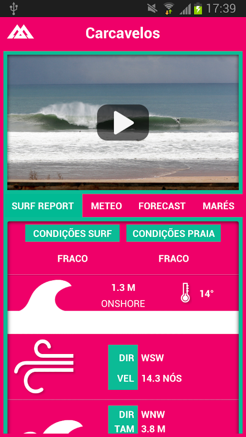 Beachcam– captura de ecrã