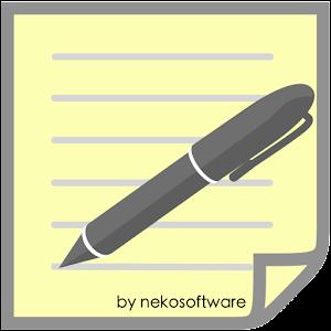 Memo(Note Pad)  1.1