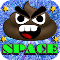 Angry Poo Space Free icon