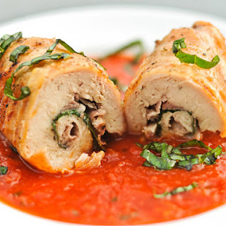 Chicken Involtini with Prosciutto and Basil