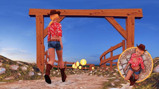 农场女孩跳跃类游戏