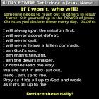 GLORY POWER to stir you up! icon
