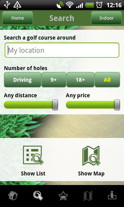 Czech Golf Guide- screenshot