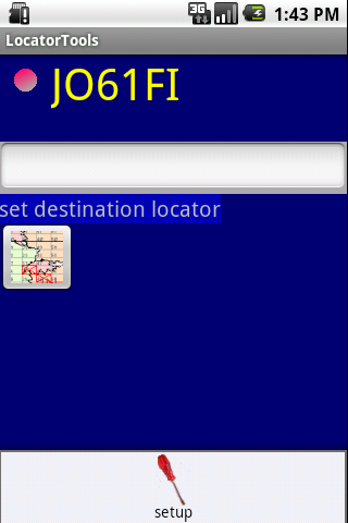 QTH Locator Droid - screenshot