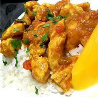 Chicken and Mango Curry.