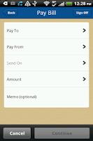 Screenshot of Seaside Commercial Banking