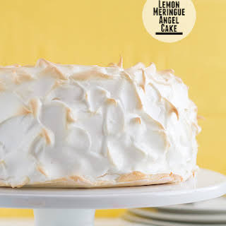 Lemon Meringue Angel Cake.