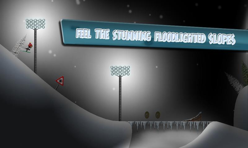 Stickman Ski Racer screenshot #4