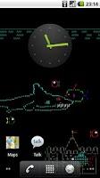 Screenshot of Asciiquarium Live Wallpaper