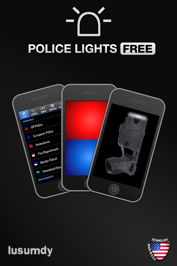Police Lights Free- screenshot