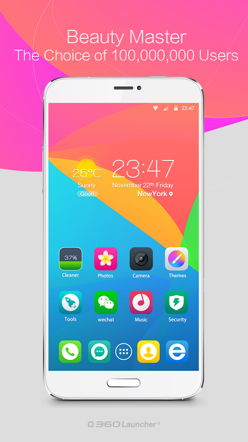 360 Launcher(Font,Wallpaper) – Capture d'écran