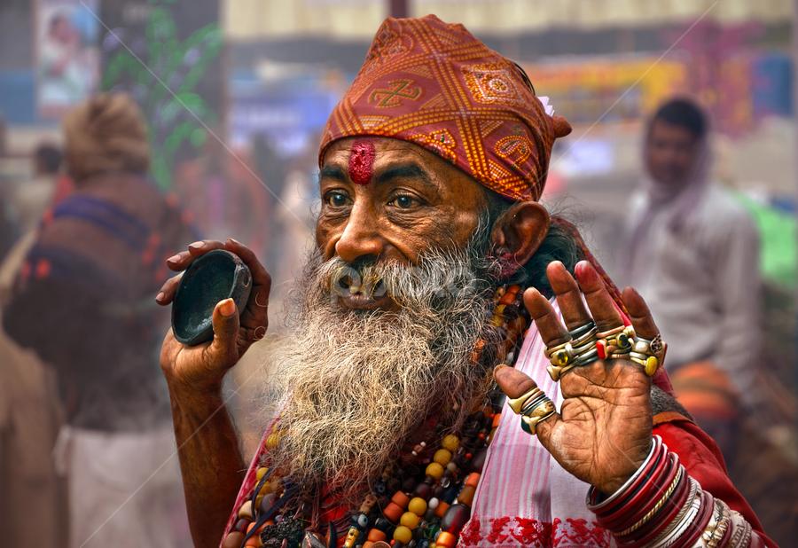 by Ajay Halder - People Portraits of Men