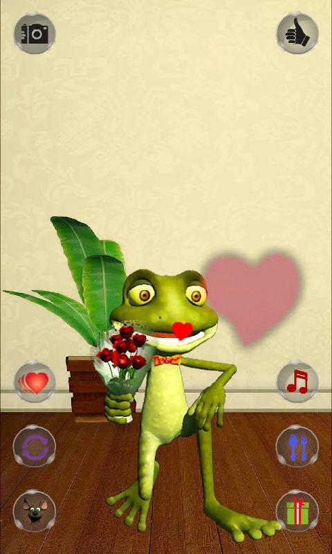 Talking Frog - screenshot