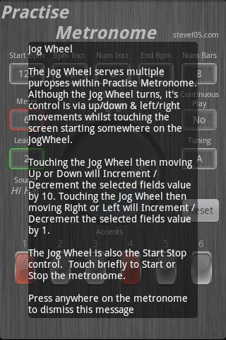 Practise Metronome- screenshot