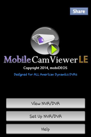MCV for AMERICAN DYNAMICS DVRs