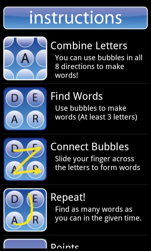 WordTwist Free - screenshot