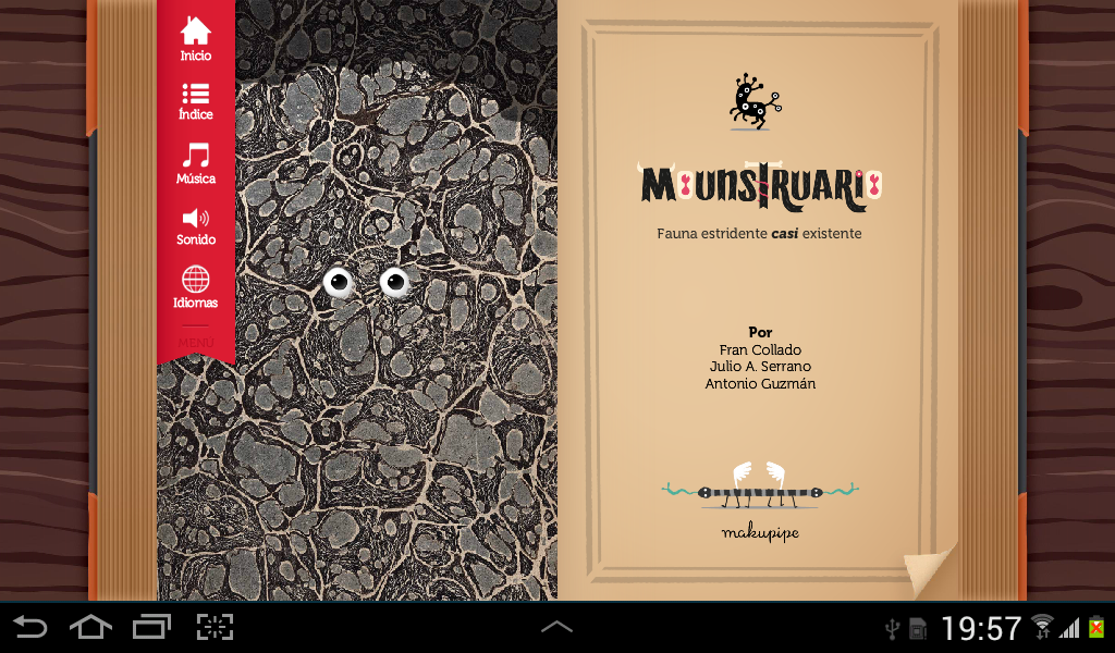 Mounstruario - screenshot