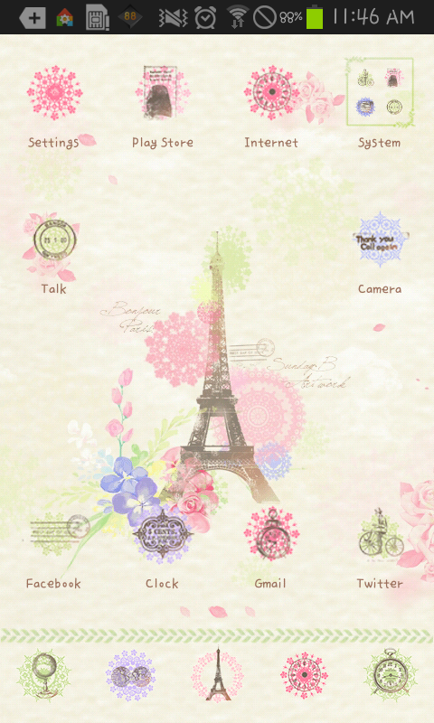 Love is go launcher theme APK 1 2 Download - Free Personalization