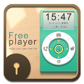 D-Free player GO Locker Theme