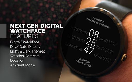 Next Gen Digital Watch Face