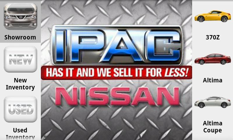 IPAC Nissan- screenshot