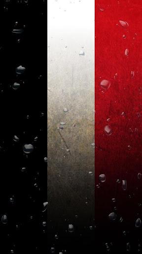 Yemen flag water effect LWP