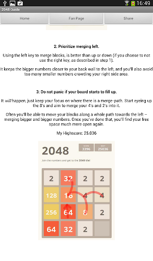 2048 Game Strategy Guide
