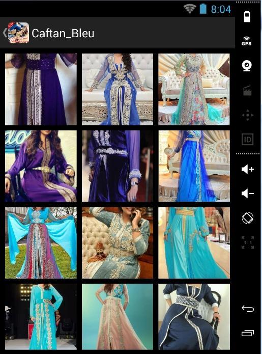 Moroccan caftan - screenshot