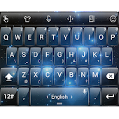 T Glass Space TouchPal Theme