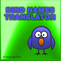Bird names WP translator logo