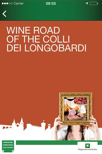 Road of the Colli Longobardi