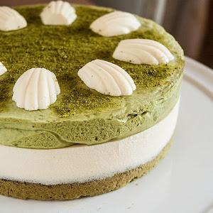 Green Tea and Mascarpone Tart
