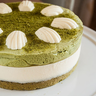 Green Tea and Mascarpone Tart