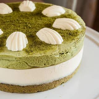 Green Tea and Mascarpone Tart.