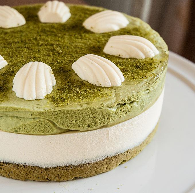 Green Tea and Mascarpone Tart Recipe
