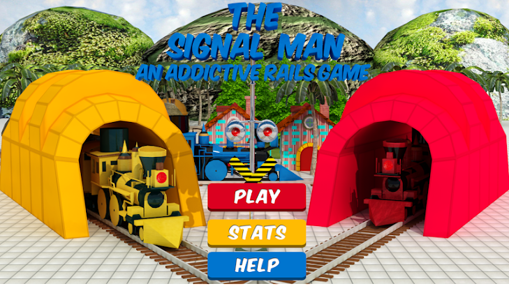 Signal Man-The Addictive Rails screenshot