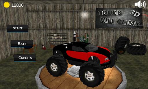 Monster Truck Hill Climb Race