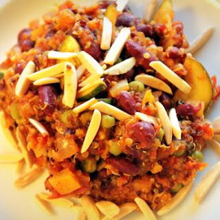 Quinoa Vegetable Paella.