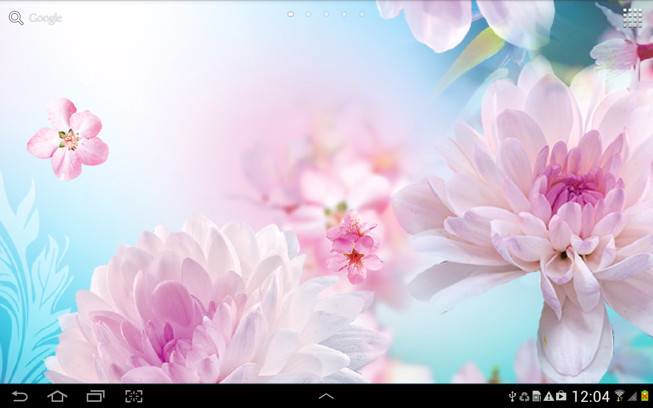 Flowers Live Wallpaper Android Apps On Google Play