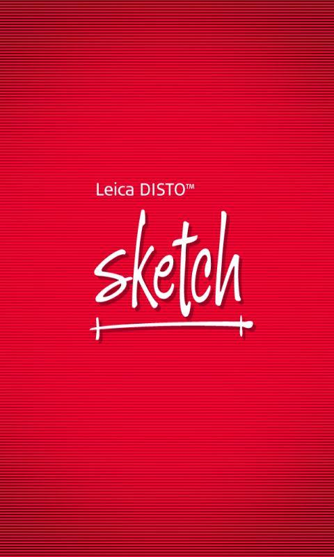 Leica DISTO™ sketch - screenshot