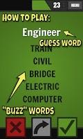 Screenshot of Buzzwords