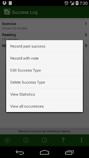 Success Log: Goal Tracker- screenshot thumbnail