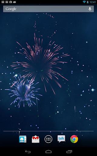 KF Fireworks Wallpaper Paid