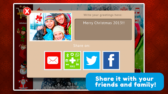 Xmas Cards for Chat - New Year- screenshot thumbnail