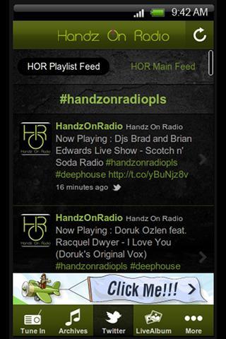 Handz On Radio - screenshot