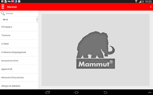 Mammut- screenshot thumbnail