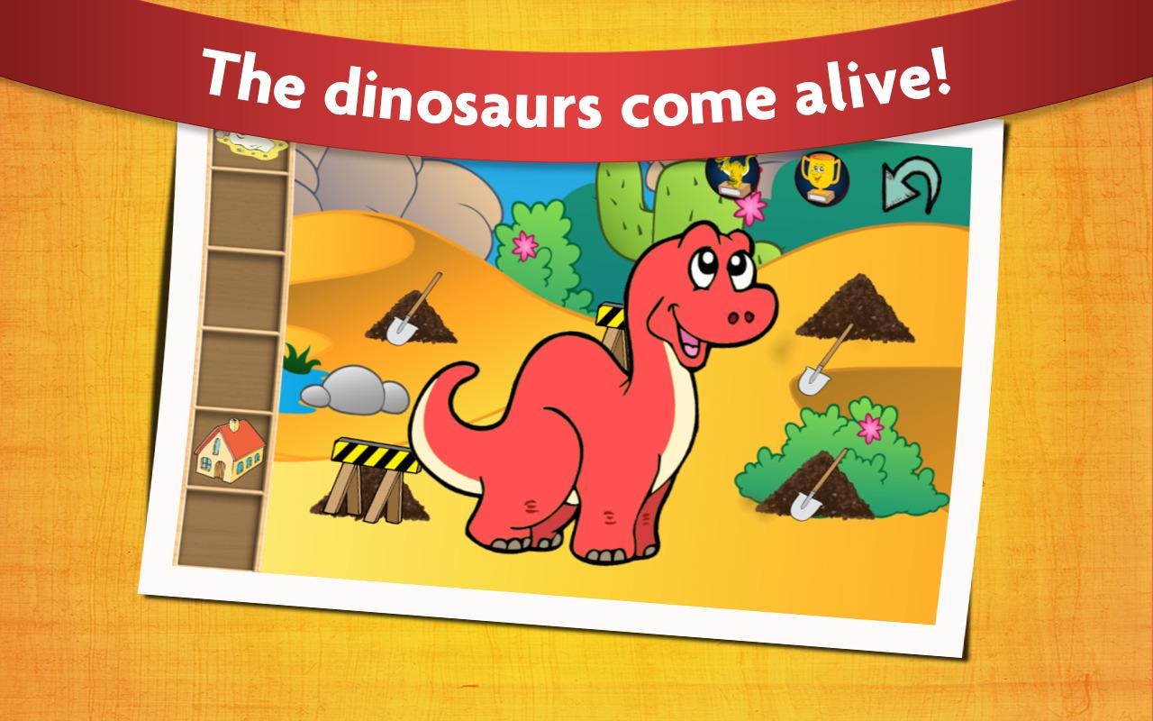 Kids Dinosaur Game Free- screenshot