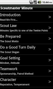 The Scoutmaster Minute- screenshot thumbnail