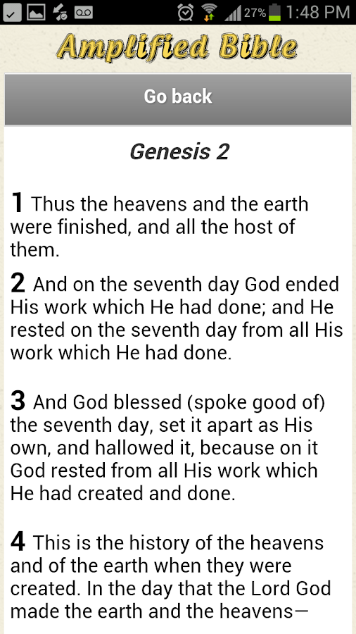 King James Version Bible KJV - screenshot