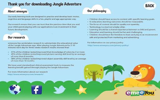 【免費教育App】Jungle Adventure-APP點子